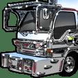 車(トラック日常1)クルマバイクシリーズ