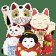 日本の縁起物コレクション