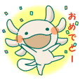 Sticker Axolotl