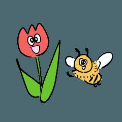 Little Tulip & Bee