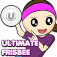 Ultimate Frisbee Sticker Collection