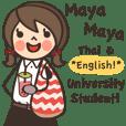 Mayamaya University Student (TH + EN)