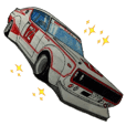 Old car highway racer NO5