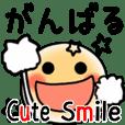 Cute Smile Simple Pop Sticker