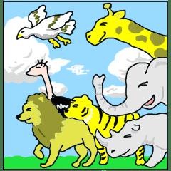 ほんわか敬語動物園