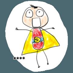 Superboy (custom sticker)