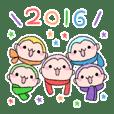 Pastel monkey2016