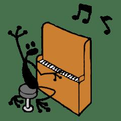 オーケストラな黒蛙