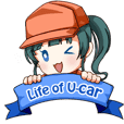 Life of U-CAR - practical sticker