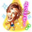 Sticker of Ka-kun,forever idol in Japan!
