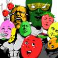 煽りんご と もっと美味しい仲間たち。