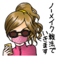 Japanese Sweet Girl Stickers 2