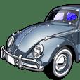 車(1960敬語)クルマバイクシリーズ