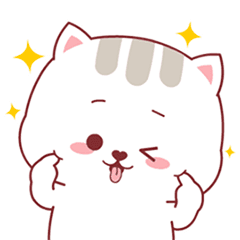 Happy daily life of cute meow