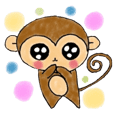 Monky Sticker