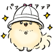 popochi hat sticker