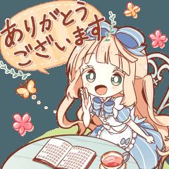 HONWAKA Alice BIG Sticker