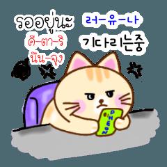 แมวน้อยสอนภาษาเกาหลี 4 TH-KR THAI-KOREA
