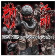 FPS Military Sticker K.E.I.G.O.ver