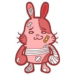 KEGAGURUMI's BIG Sticker