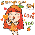 Orange cute girl (Fruit Ver.2)