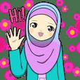 Hana cute Hijab