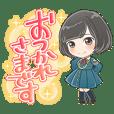 欅坂46 ちびキャラ スタンプ