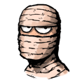 Mr.Mummy ( the bandaged man )