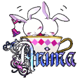 -Anima- Mini Character Sticker