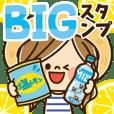 Kawashufu BIG Sticker