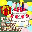 Big happy birthday 7/1-31
