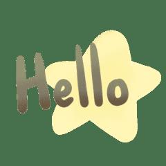 Brown star word