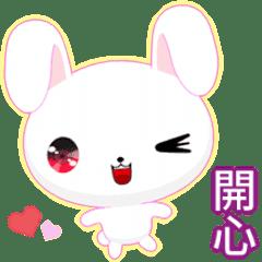 晴天兔 ( 淡色 )    .