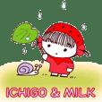 ichigo&milk  sticker
