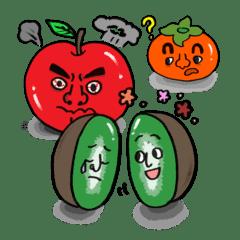 Fruit friends(Fairy tale book_ver)