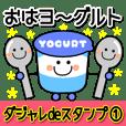 Dajale Sticker Nico-chan