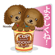 Cup & poodle
