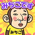 お猿の『みちこ』2