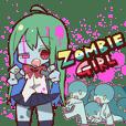 Zombie girl zombie-chan