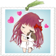 Little Angel B33 -bookmark style -daily