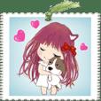 小天使長髮版 B33 -書籤 -日常用語 -大貼圖