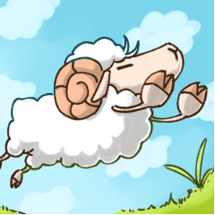 Daily life of a loose sheep