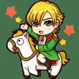 不思議の国の王子と白馬