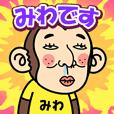 お猿の『みわ』2