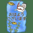 かわいい動物のスタンプセット7(BIG)