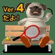おとぼけパグさん4(スポーツ編)