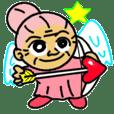 天使のピンクおばあちゃん