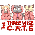 CatRabbit : The Three Wise Cats