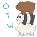 【印尼版】We Bare Bears Animated Stickers
