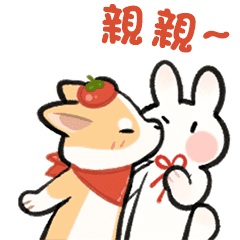 Daily life of tomato and glutinous rice